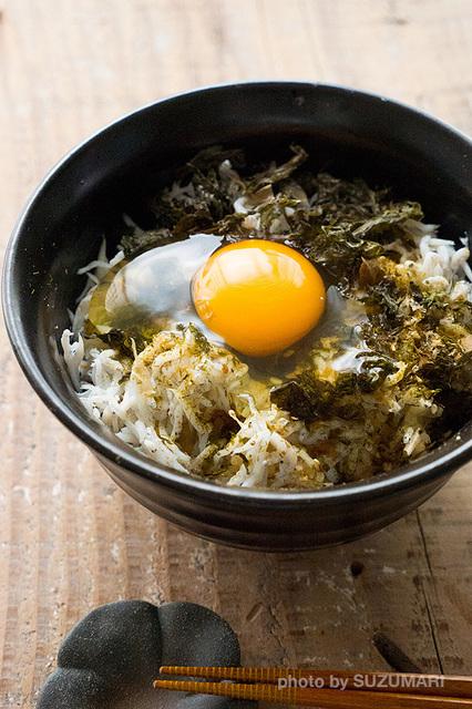 しらすと地海苔の卵かけご飯.jpg